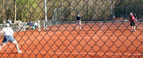 Tennisachtergrond